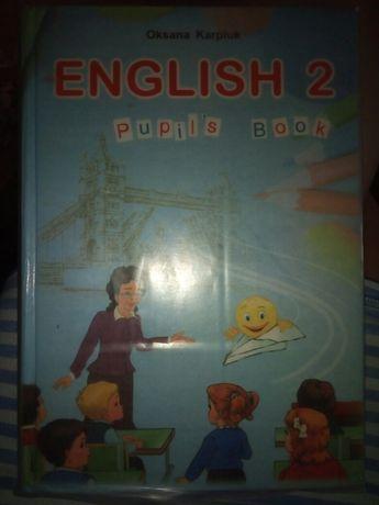 книга англ.яз. 2 кл.