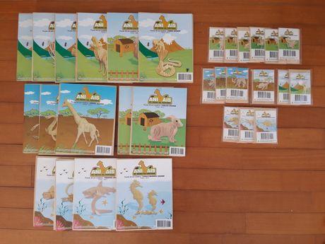 Puzzle 3D em Madeira - Animais no Reino da Fantasia