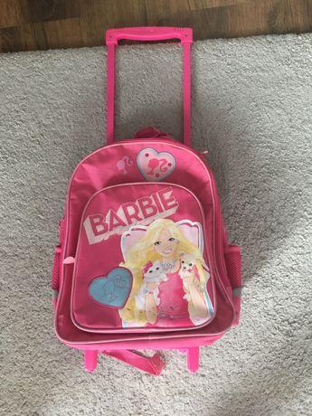 Walizka/tornister na kółkach Barbie