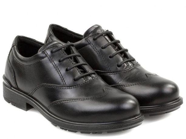 Новые классические кожаные туфли ECCO на мальчика, оригинал, 30-31, 36