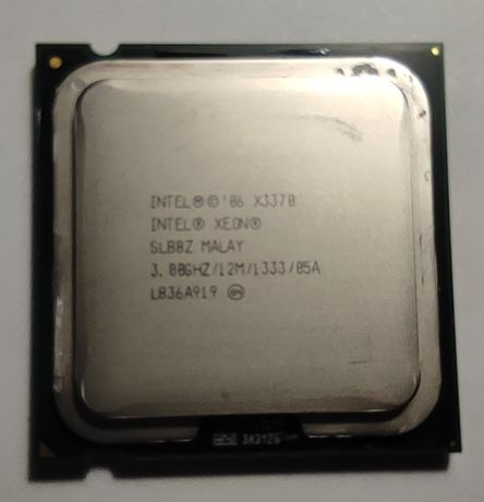 Процессор Intel® Xeon® X3370