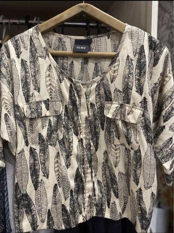 Рубашка а принтом