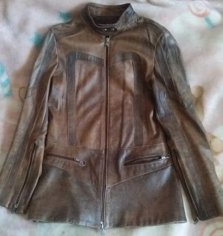 Куртка шкіряна