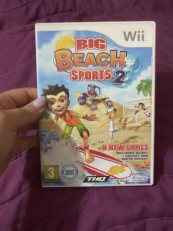 Jogo Wii - Big Beach Sports 2