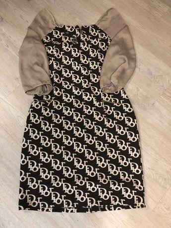 Платье Dior с замочком 48-50 размер