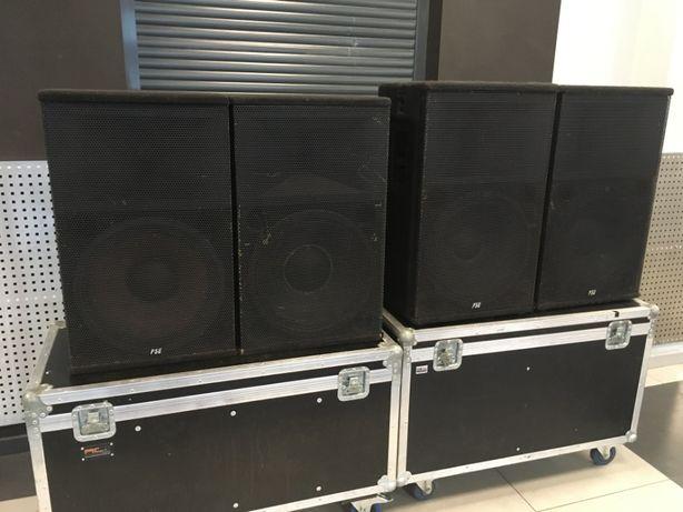 """Potężne kolumny głośnikowe PSE JT 215 - 15""""+2"""", głośniki B&C, satelity"""