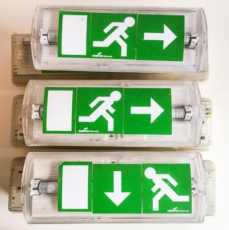 6 Luzes de emergência