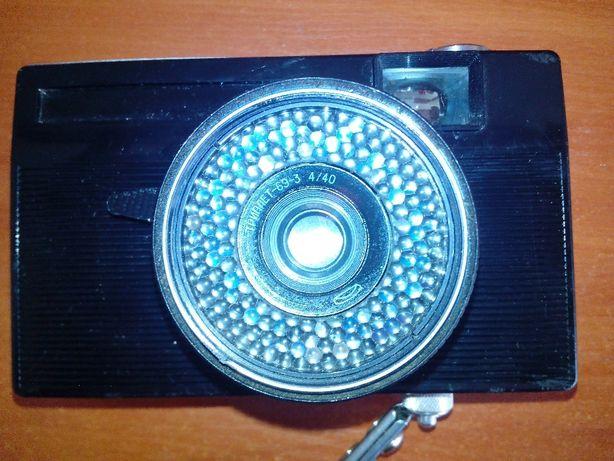 aparat fotograficzny VILIA z obiektywem TRIPLET 69-3 4/40