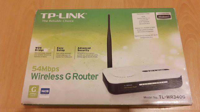 Router,wzmacniacz, punk dostępowy TP-Link TL-WR340G