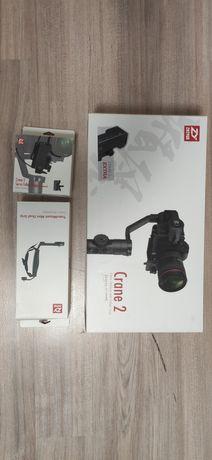 Стабілізатор zhiyun crane2 + follow focus+mini dual grip