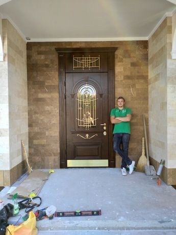 Установка входных дверей!!! От 700грн.