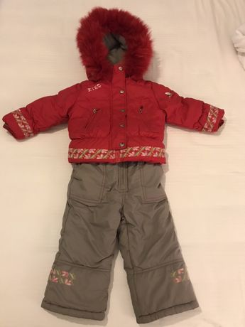 Зимний лыжный костюм Kiko 86 рост на 1.5 года