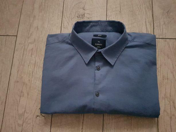 Koszula z długim rękawem Carry rozm. XL Slim