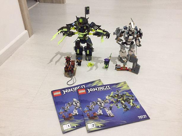 Lego ninjago 70737 starcie tytanów Mech