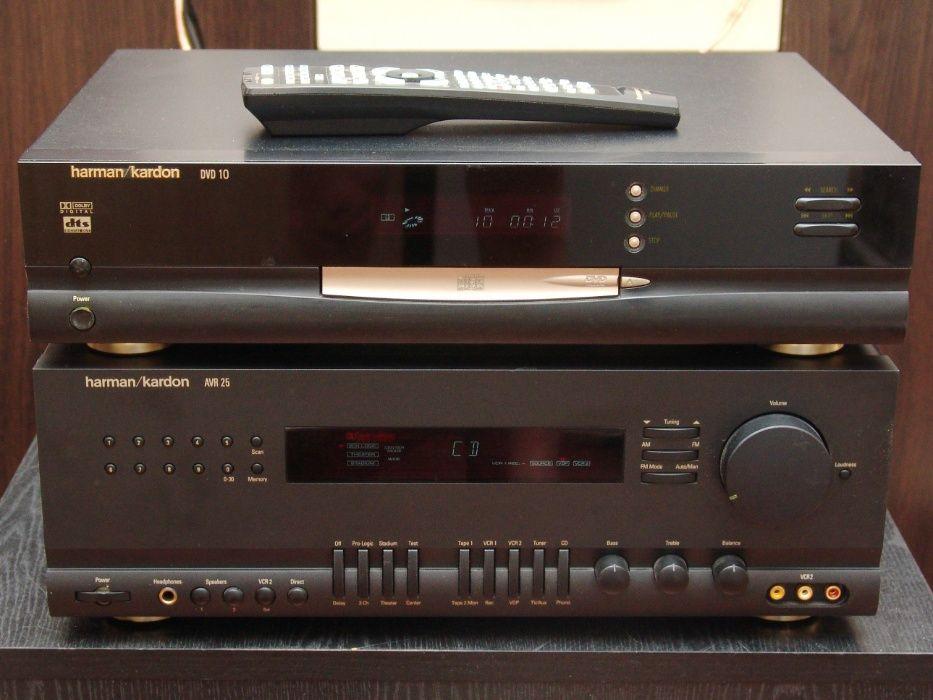 Ресивер Harman Kardon AVR25 фонокорректор, пульт + DVD/CD плеер DVD10. Киев - изображение 1