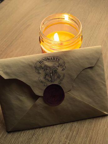 List z Hogwartu Harry Potter handmade