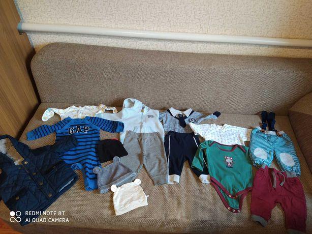 Пакет речей для хлопчика від 0 до 6 місяців