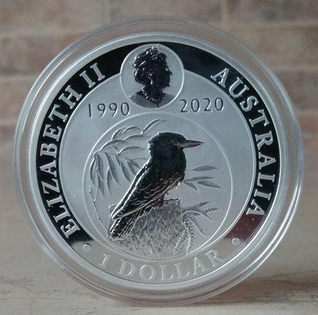 Srebrna moneta Kokabura 2020r.