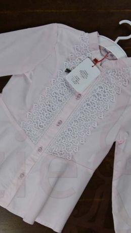 Блуза розовая 134р ТМ Сьюзи Suzie