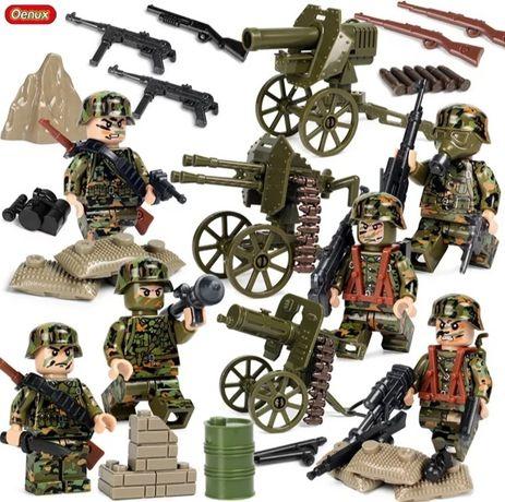 Nowy zestaw klocków militarnych - armia