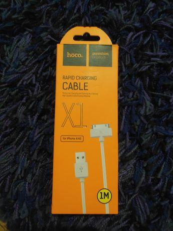 Зарядный кабель для iPhone 4,4s