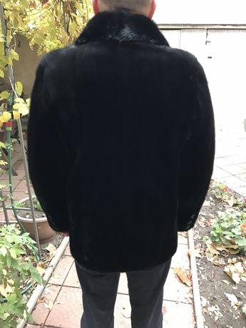 Шуба натуральная норковая, новая, мужская , пальто.