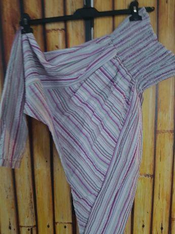 Spodnie alladynki 152cm