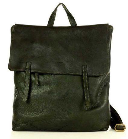 Італійський рюкзак з натуральної шкіри A4 з серії vintage