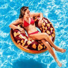 """Надувной круг Intex 56262 """"Шоколадный пончик"""" 114 см"""