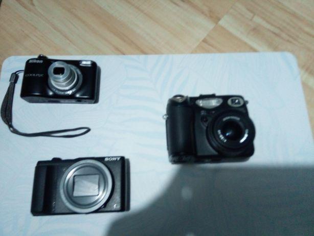Aparaty Nikon Coolpix 5000, Nikon l31 , Sony Dsc-hx 60