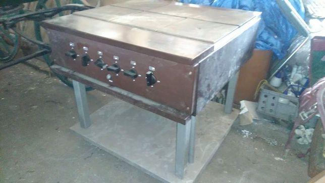 Piec kuchnia elektryczna nowa 6 palnikowa kromet