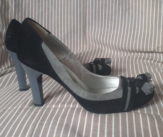 Nowe buty na obcasie Mario Bolucci