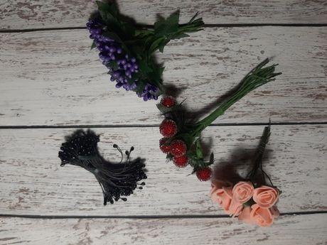 Цветы искусственные для декора