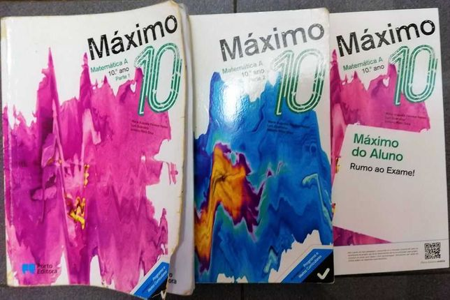 Máximo 10 - Manual de Matemática A 10ºano