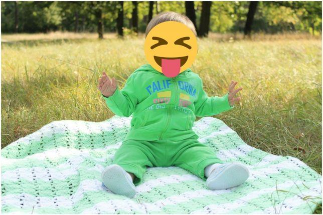 Теплые спортивные штаны Mothercare 9-12,джоггеры, спортивный костюм