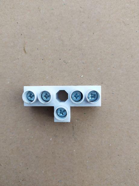 Listwa zaciskowa kostka elektryczna złączka instalacyjna