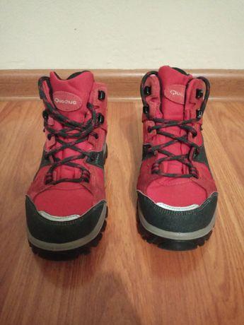 Шкіряні Ботинки черевики Quechua розмір 31