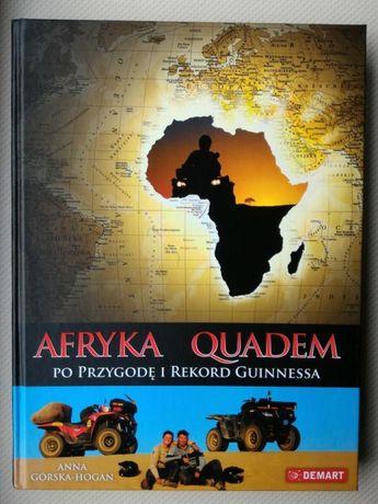Książka Afryka quadem rekord Guinnessa