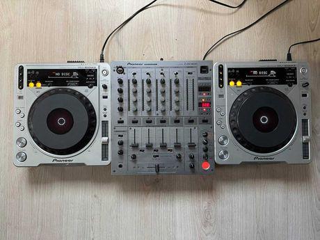 2x Pioneer CDJ 800 MK2, Pioneer DJM 600 SPRAWNE !