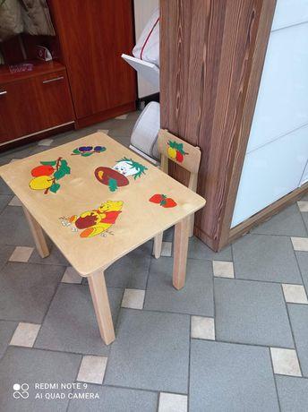 Дитячий столик. Зроблено з дерева!