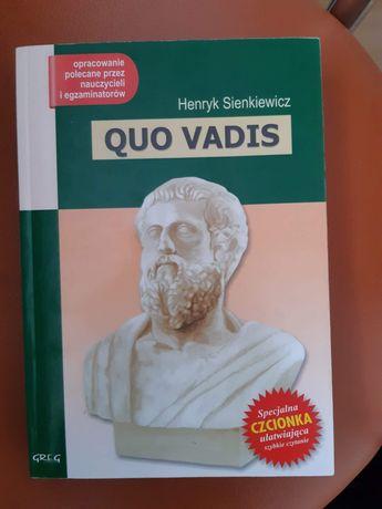 Lektury szkolne Quo Vadis
