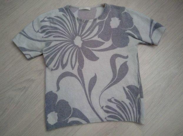 Кофточка ангоровая с коротким рукавом (Италия) на девочку, футболка