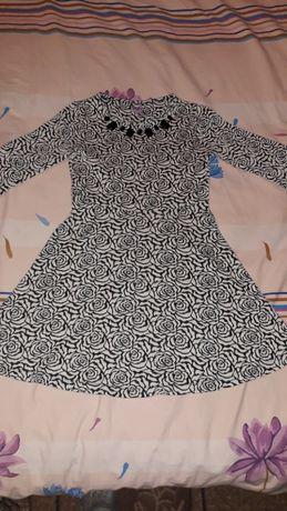 Нарядное, осеннее платье для девочки F&F, на 9-10лет