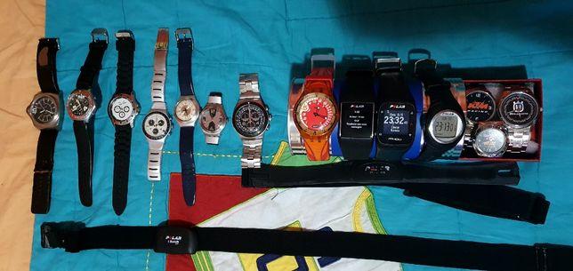 Relógios Swatch, Polar, KTM, Husqvarna, Tissot, Ray Ban Colecionadore