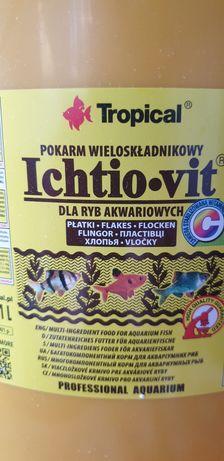 Pokarm Ichtio-vit platki