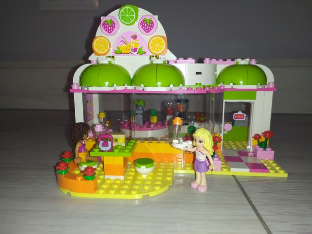 LEGO Friends bar z sokami