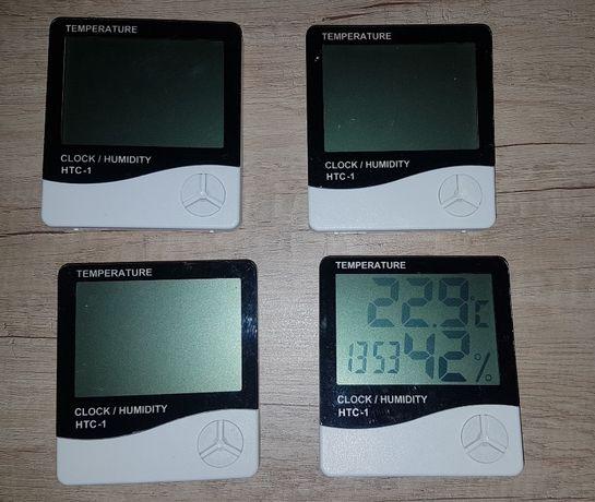 cyfrowy TERMOMETR HIGROMETR stacja pogody zegar