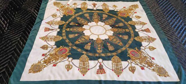 Шелковый платок hermes paris