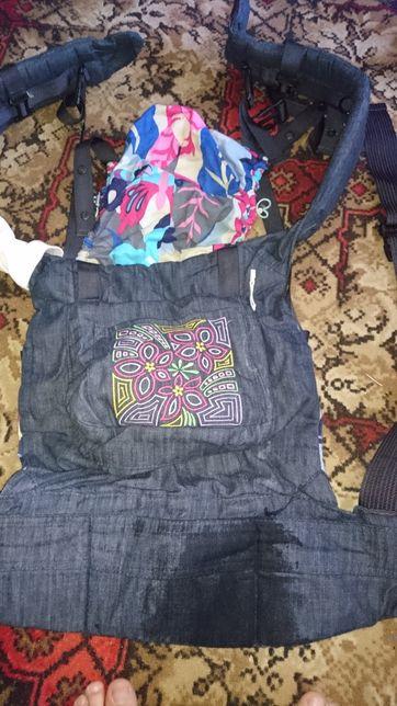 Эрго рюкзак переноска модный каприз My baby