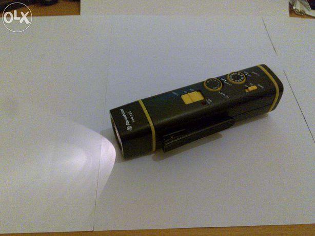 lanterna (roadstar ftr-129) rádio e com um sistema de luz intermitente